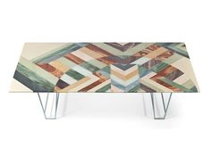 Rectangular marble table EARTHQUAKE 5.9 Earthquake 5.9 Collection by Budri | design Patricia Urquiola