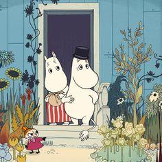 the moomins sure la riviera Tove Jansson, Illustrations, Children's Book Illustration, Botanical Illustration, Yule, Moomin Books, Les Moomins, Flame Tree, Moomin Valley