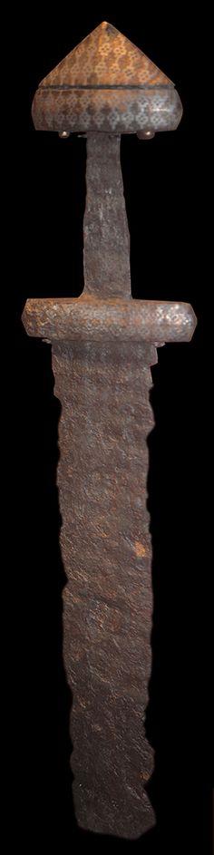 Viking age sword, Gotland, Sweden