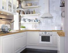 Küchenteppich ikea ~ Küchenteppich streifen schwarz weiß küchen ideen