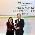 Tofaş'a Çevko'dan Yeşil Nokta Sanayi Ödülü