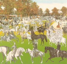 Peter Blake, Vichy - Horseshow