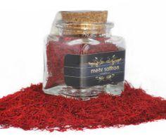 Persian Saffron, organic & pure Mehr sargol saffron / 5-Gram Corked Jar - http://spicegrinder.biz/persian-saffron-organic-pure-mehr-sargol-saffron-5-gram-corked-jar/