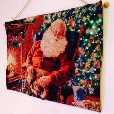 Christmas tapestry with lights :)