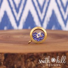 Evil Eye Charm Locket Charms, Lockets, Create Your Own Story, South Hill Designs, Gold Locket, Evil Eye Charm, Floating Charms, Love Blue, Gold Rings