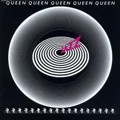 Queen : Jazz (1978)   The very first Queen album I owned, a present for my 18th birthday from some of my classmates