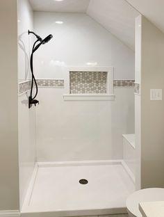 Shower Gallery Onyx Shower, Bathroom Shower Panels, Bathroom Design Small, Bath Design, Bathroom Ideas, Bathroom Inspo, Bathroom Designs, Master Bath Remodel, Master Bathroom