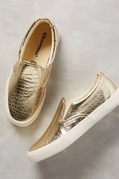 Metcrocw Slip-On Sneakers by Superga #anthrofave
