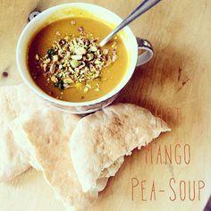 Yellow Pea Mango Soup