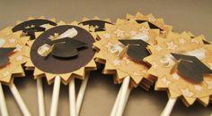 Graduation - cupcake toppers - set of 12 - KriskropMemories