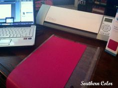 Silhouette Cameo Tutorial: Heat Transfer Vinyl. Read step by step instructions with pictures.