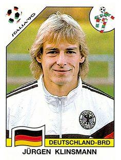 265 Jurgen Klinsmann - Deutschland-BRD - FIFA World Cup Italia 1990