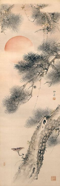 Taki Katei (Japanese, 1830-1901) Memories of Japanese Art history in college in the1970's