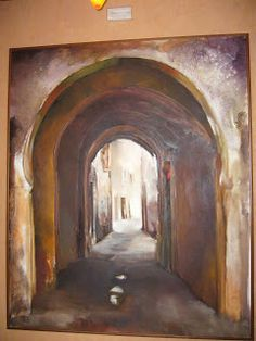 Mahmoud Sehili Porte De Sfax Peinture Mahmoud Sehili