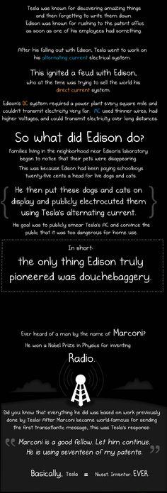 Nikola Tesla Vs. Thomas Edison - Imgur