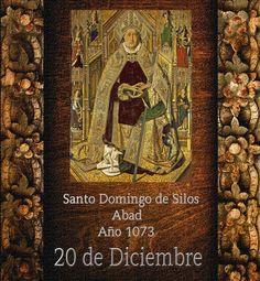 """https://flic.kr/p/PHWCRf   Santo Domingo de Silos.(†Dedicado  al P.Cotallo)    Santo Domingo de Silos Abad    Año 1073  20 de Diciembre  Domingo significa: """"el que está consagrado a Dios"""". (Dominus: Dios).  Domingo de Silos es el primer santo que lleva este nombre. Después de él muchos santos más llevarán tan hermoso nombre.  Nació en La Rioja, España, cerca del año 1000.  Era hijo de agricultores, y sus primeros años los pasó como pastor de ovejas. El resto de su vida lo pasará co..."""