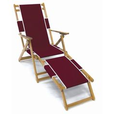 Frankford Umbrella Commercial Oak Wood Beach Chairs | Jet.com