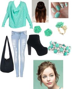 """kiwi"" by pbe14 ❤ liked on Polyvore"