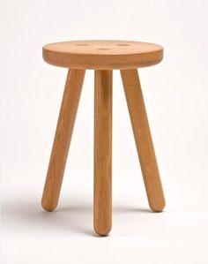 3 legged wooden stool
