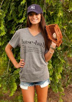 Baseball Tee from August Bleu