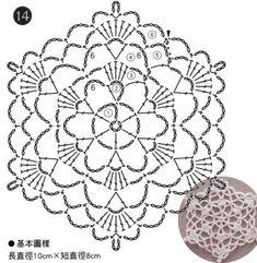 How to Crochet a Puff Flower Motif Mandala Crochet, Crochet Shawl Diagram, Freeform Crochet, Crochet Chart, Crochet Squares, Thread Crochet, Crochet Ornament Patterns, Crochet Snowflake Pattern, Crochet Motif Patterns