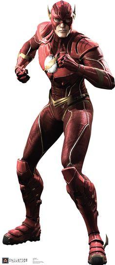Flash - Injustice DC Comics Game Cardboard Standup