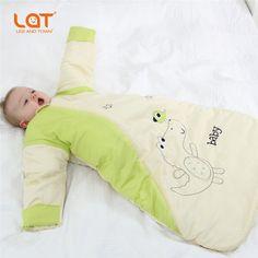 6850cf77bbf8 100% cotone sacco a pelo per bambini più spessi bambini pigiama di cotone  animale abbigliamento