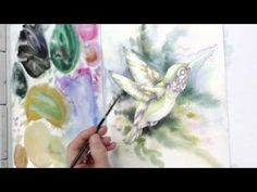 How to Paint a Hummingbird by Jody Bergsma