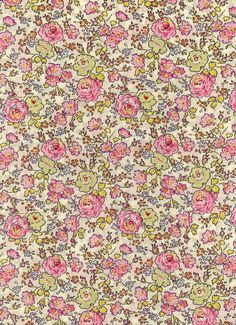 Fabric by Liberty of London tana lawn DISCONTINUED DESIGN Felicite 6x26