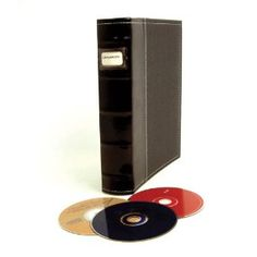 Bellagio Italia Leather DVD Storage Binders And Products