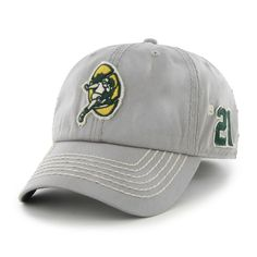 Green Bay Packers Dreadnought Gray 47 Brand Adjustable Hat 8cc77fa42