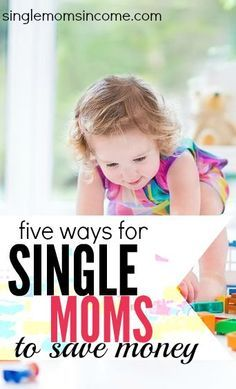 Are you looking for some unique ways to get more out of your money? Here are five ways for single moms to save money. Some of these are pretty great ideas!