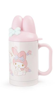 The cutest stainless steel mug ever! Sure to spark a smile with every cup. #MyMelody