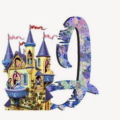 Alfabeto de Princesas Disney. | Oh my Alfabetos! Disney Alphabet, Cute Alphabet, Alphabet Letters, Alfabeto Disney, Disney Princess Party, Letter J, Snow Globes, Clip Art, Minne