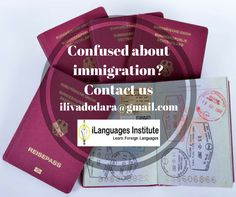 Confused about immigration? let our expert clear your confusion. Visit at www.ilanguagesinstitute.com #Foreignlanguage #Translation #Ilanguage #visaconsultancy #Languageexperts #Translators #vadodara #immigration