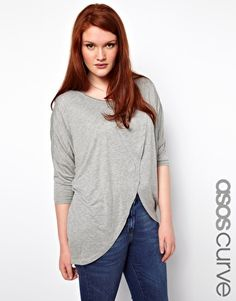 Enlarge ASOS CURVE Top With Cross Front