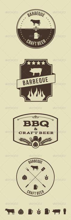 Vector Hipster Barbeque Emblems  http://graphicriver.net/item/vector-hipster-barbeque-emblems/6697371?WT.ac=portfolio&WT.seg_1=portfolio&WT.z_author=ragerabbit