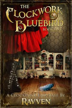 A cover image for a YA steampunk fairytale/fantasy project that I've been working on. The Clockwork Bluebird Best Book Covers, Beautiful Book Covers, Book Cover Art, Book Cover Design, Book Design Inspiration, Design Basics, Science Fiction Books, Ebook Cover, Cool Books