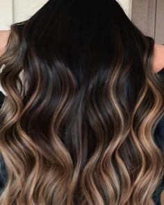 White Blonde Hair, Blonde Hair With Highlights, Brunette Hair, Black Hair With Ombre, Medium Brown Hair Color, Brown Hair Colors, Hair Colour, Pink Hair Dye, Dyed Hair