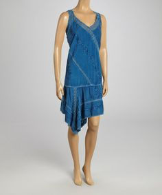 Loving this Jean Handkerchief Dress - Women & Plus on #zulily! #zulilyfinds