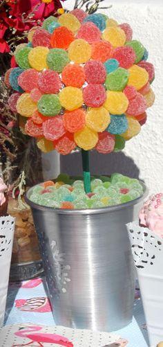 Gominolas de frutas para un arbolito