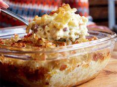 Per Morbergs makaronipudding (kock Per Morberg) Snack Recipes, Cooking Recipes, Snacks, Pudding Recipes, Canned Blueberries, Vegan Scones, Scones Ingredients, Good Food, Recipes