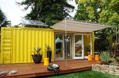 Gb, piccolo e sostenibile: l'appartamento è un container