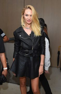 Candice Swanepoel Photos Photos - Candice Swanepoel attends the Rihanna Party at…