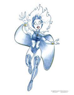Las superheroínas de Laurie B - Taringa!