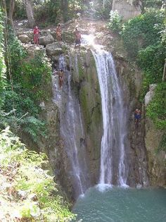 Puerto Plata, Dominican Republic ~ Damajaqua - Waterfall Jumping Just got back from here, it was amazing :)