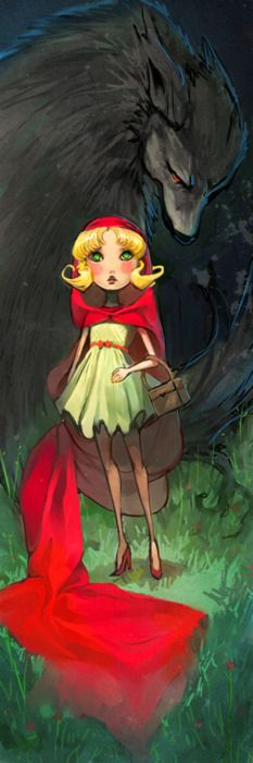 Red Riding Hood by Alice Chan