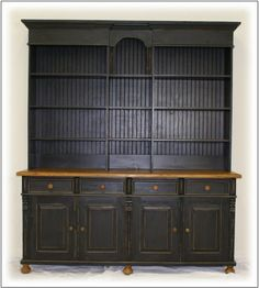 1000 images about open shelf hutches on pinterest china Primitive Bedroom Furniture Country Rustic Primitive Furniture