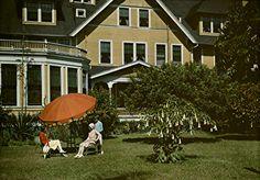 Ladies in the garden 1927.
