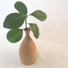 Handmade Wood Bud Vase